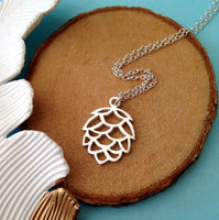 Pinecone Necklace, Autumn Necklace