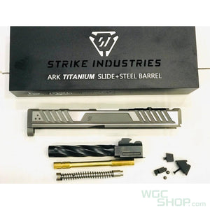 EMG Strike Industries ARK-17 Titanium Slide and Steel Barrel for Marui G17 Series ( Type B )