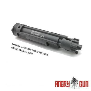 AngryGun Enhanced Drop In Complete MPA Nozzle Set for Marui M4 MWS GBBP