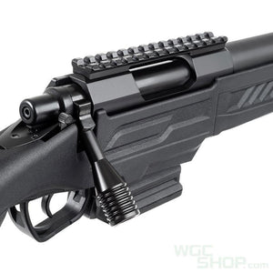 Action Army AAC T11 Spring Airsoft Rifle ( Black )-WGCShop
