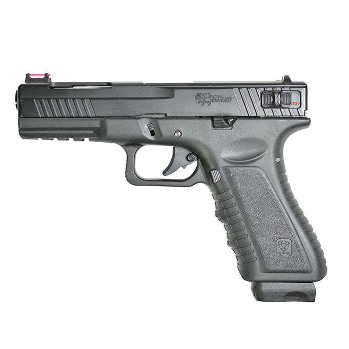 APS Black Hornet Co2 BlowBack Pistol ( Black )