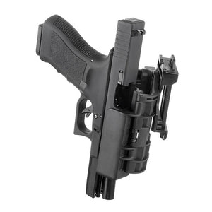 APS Quick Cocking / Tactical Holster for G17 ( Black )-WGCShop