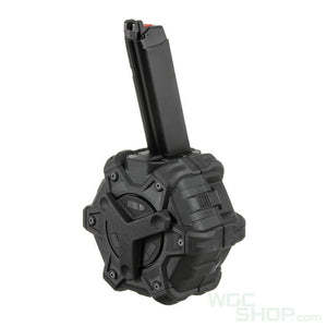 Armorerworks Custom G17 Gas Drum Mag ( Black )-WGCShop