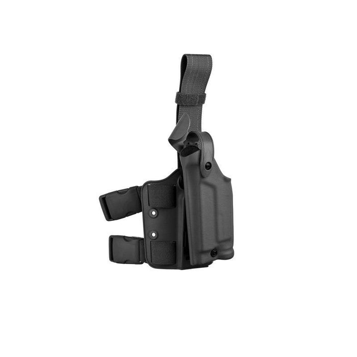 Safariland 6004 SLS Tactical Holster - Glock 20 / 21 w/ Surefire X200 ( Tactical Black, Right )