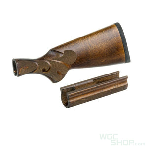 CAW Wood Stock Old Type DX Model for Marui M870 Tactical