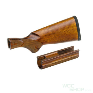 CAW Wood Stock Old Type B Model for Marui M870 Tacitcal