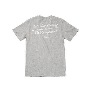 CPTN HOOK Slogan Tee ( Grey )-WGCShop