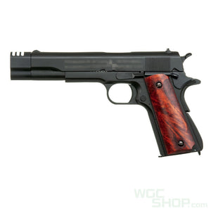 Double Bell 723MBT M1911 GBBP ( Black / Wood Grip )-WGCShop
