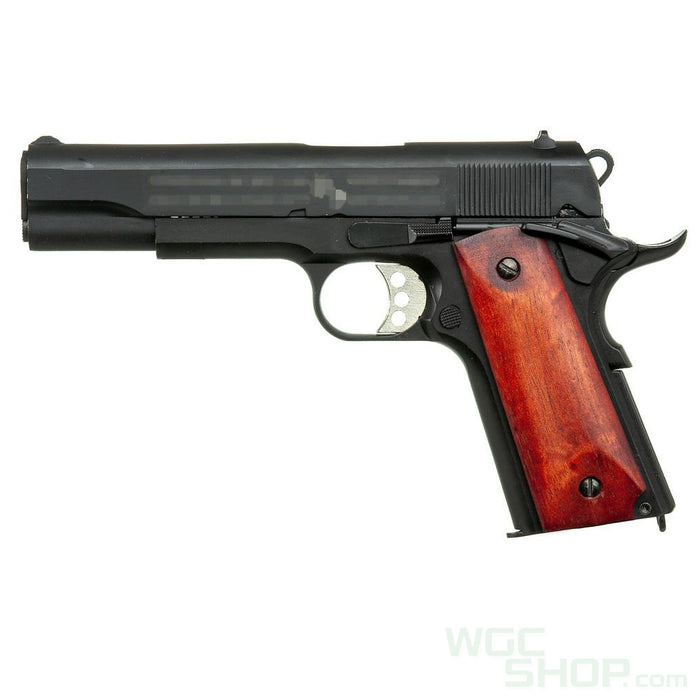 Double Bell 738MB GBB Pistol ( Black / Wood Grip )