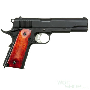 Double Bell 738MB GBBP ( Black / Wood Grip )-WGCShop