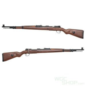 Double Bell 98K Spring Rifle ( Faux Wood / Scope )-WGCShop