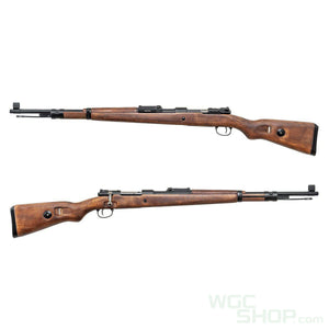 Double Bell 98K Spring Rifle ( Wood / Scope )-WGCShop