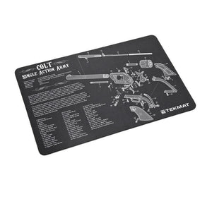 Tekmat 17 Inch Cleaning and Repair Mat ( Colt Revolver )