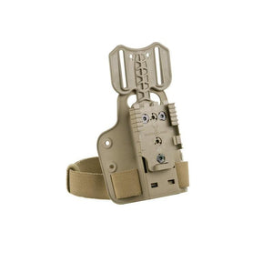 Safariland Small Tactical Plate w/DFA & QLS Receiver ( FDE )