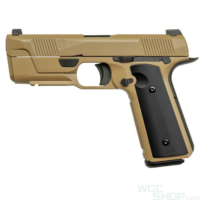 EMG HUDSON H9 Gas Blowback Pistol - Tan