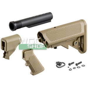 G&P M870 P.Grip w / Buttstock ( Sand / Set B )-WGCShop