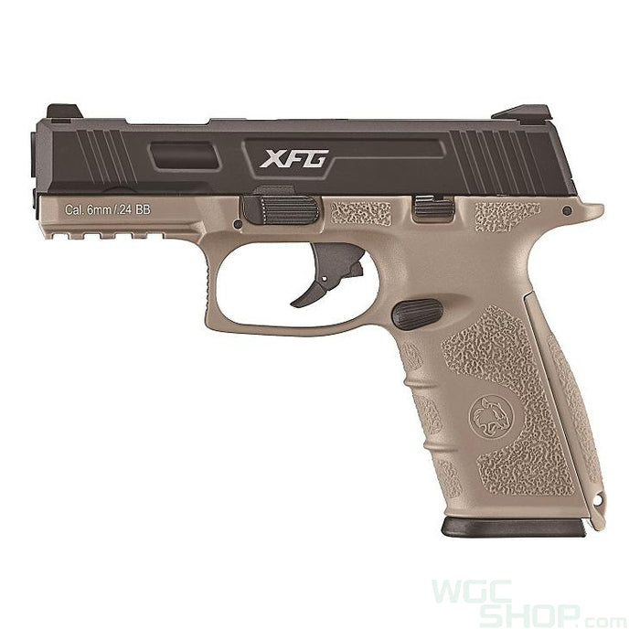 ICS Black Leopard Eye XFG GBB Pistol