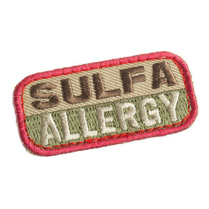 Mil-Spec Monkey Patch - Sulfa Allergy ( ARID )
