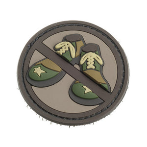 Mil-Spec Monkey Patch - PVC No Clown Shoes - ARID