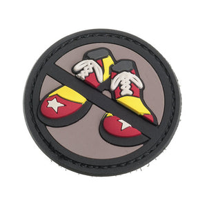 Mil-Spec Monkey Patch - PVC No Clown Shoes - SWAT