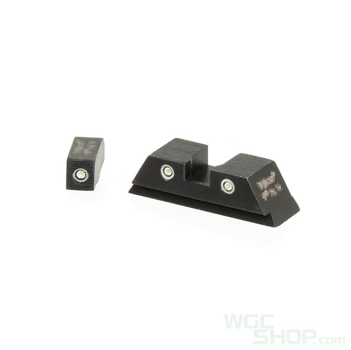Pro Arms Tritium Steel Sight for Umarex / VFC G17 Gen.3, G19 Gen.3, G17 Gen.4 GBB Pistol