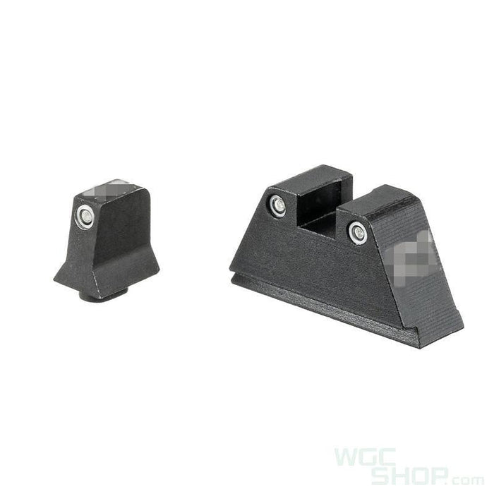 Pro Arms Tritium Steel High Sight for Umarex / VFC G17 Gen5, G19X, G19 Gen4 GBBP