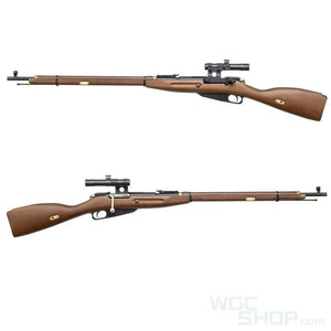 PPS Real Wood Mosin Nagant M1891/30 Spring Bolt Action Rifle with Scope-WGCShop