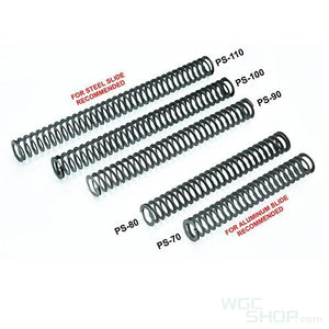 Guarder 80mm Steel Leaf Recoil Spring for Marui G-Series / M&P GBB Pistol ( PS-80 )