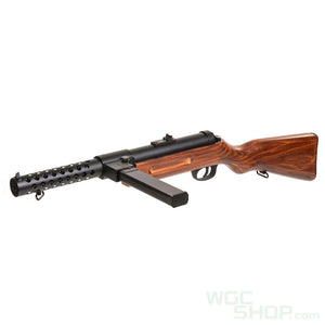 Snow Wolf Metal Bergmann MP-18 AEG ( Real Wood )