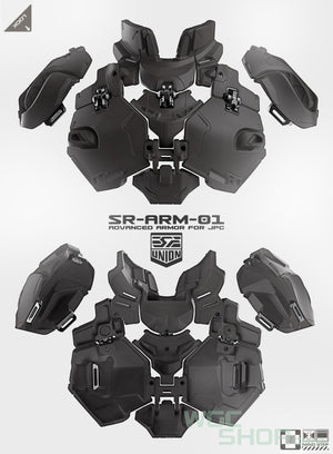 SRU Tactical Armor Kit for JPC Vest