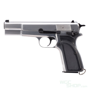 WE Browning Hi Power MK3 GBB Pistol ( Silver )