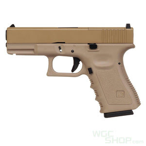 WE G19 Modular Optic System MOS GBB Pistol ( Tan )