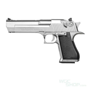 Cybergun / WE Desert Eagle Gas Blowback Pistol ( Silver )-WGCShop