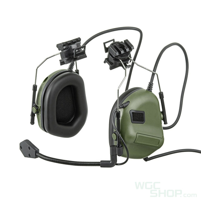 WoSport Tactical Electronic Headset ( Helmet Rail Mount, OD )