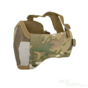 Wosport Steel Mesh Mask with Soft Ear Cover