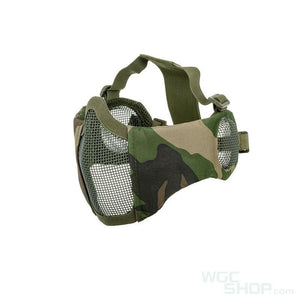 Wosport Steel Mesh Mask with Ear Cover