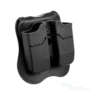 Wosport Double Pistol Mag Pouch ( Glock )