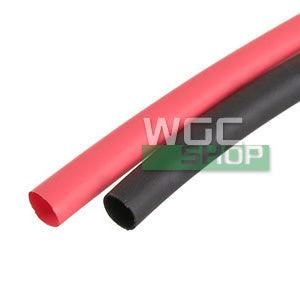 AIP 3mm Heat Shrink ( Black & Red 500mm Long )