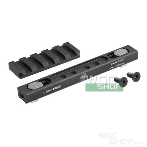 Crusade Low Profile Mount for HK416 / MK18 ( Black )