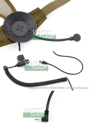 Cavalvy TASC Headset with PTT for Motorola Talkabout