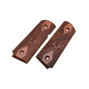 KIMPOI V10 Real Wood Grip For 1911 GBB Pistol ( Springfield Style )