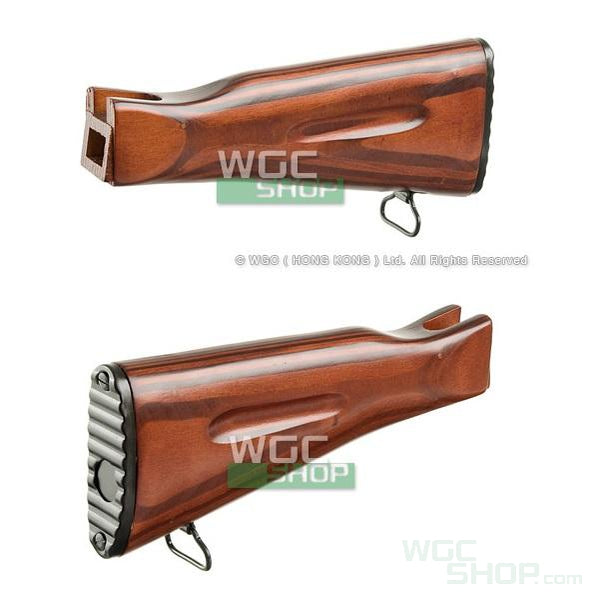 LCT Wooden Fixed Stock for AK74 NV