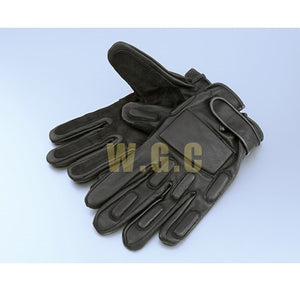 Mil-Force SWAT Leather Gloves ( Full Fingers, Large )