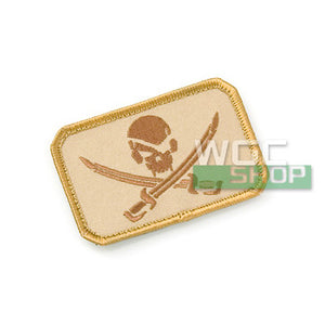 Mil-Spec Monkey Patch - Pirate Skull Flag ( Desert )