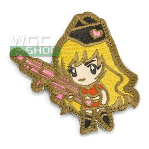 Mil-Spec Monkey Patch - Gun Girl 1 ( Subdued )