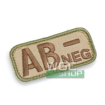 Mil-Spec Monkey Patch - Blood Type AB- ( Multicam )