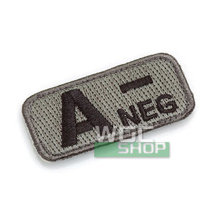 Mil-Spec Monkey Patch - Blood Type A- ( ACU Dark )