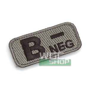 Mil-Spec Monkey Patch - Blood Type B- ( ACU Dark )