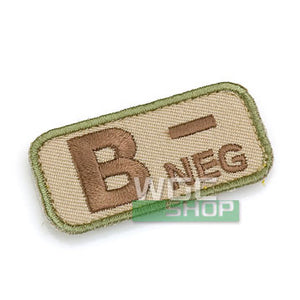 Mil-Spec Monkey Patch - Blood Type B- ( Multicam )