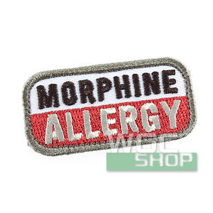 Mil-Spec Monkey Patch - Morphine Allergy ( Medical )
